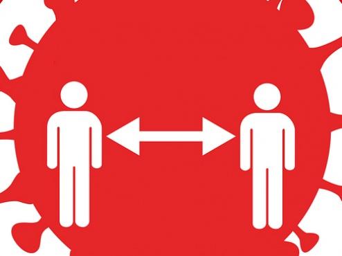 Ilustrativna grafika dvije međusobno povezane osobe
