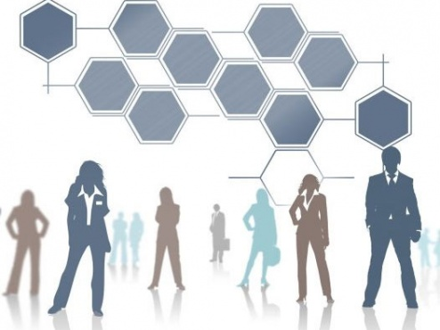 Ilustrativna slika scheme zaposlenika u firmi